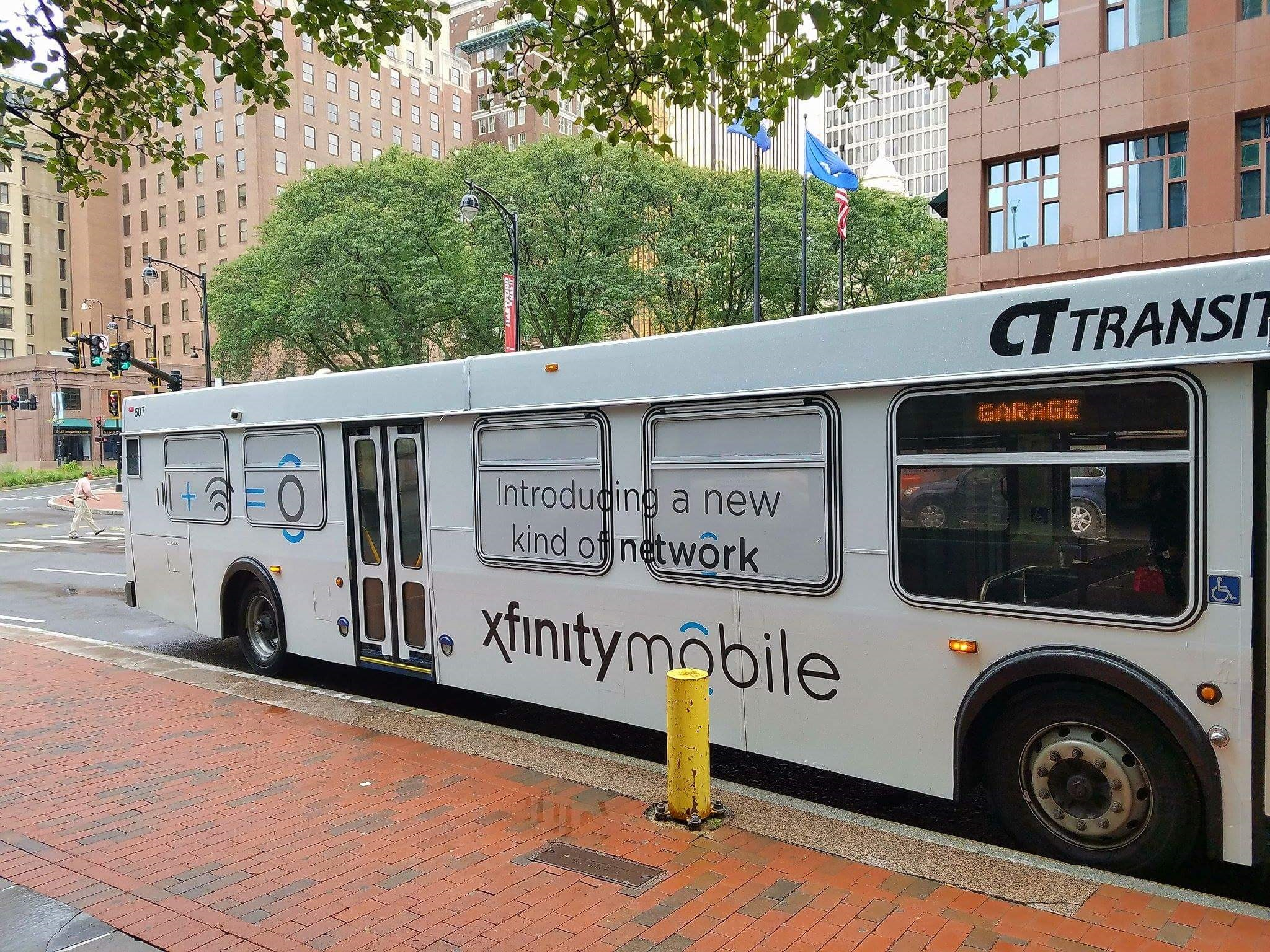 Bus Advertising with Insite Street Media